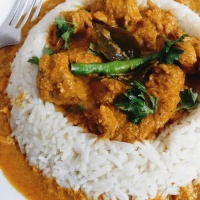 Mangalorean Coconut Chicken Curry